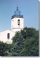 Esparron de Pallières - Church