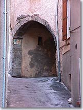 Figanieres - vaulted porch