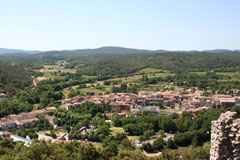 Flassans sur Issole - View from the castle