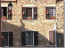 La Garde Freinet, typical stone Facade