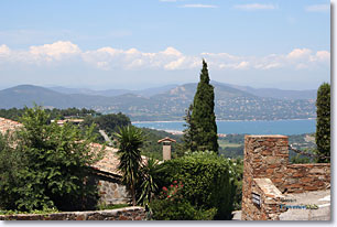 Gassin - View on the Saint Tropez gulf