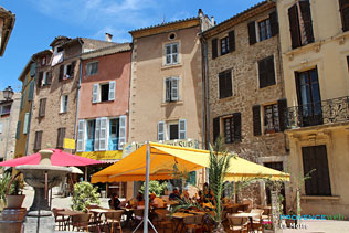 La Motte - Place du village