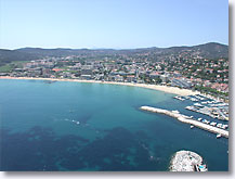 Le lavandou - Harbor and large beach