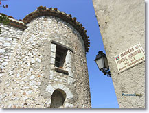 Mons en Provence - Tower