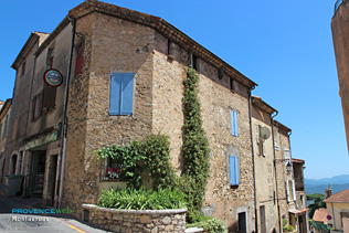 Montauroux, typical house