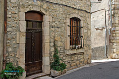 Montferrat, typical house