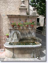 Montfort sur Argens - Fountain