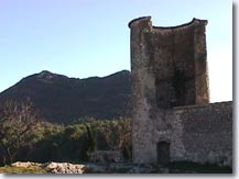 Ponteves - Castle ruins