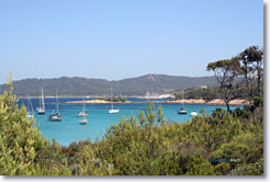 Porquerolles - Sailboats