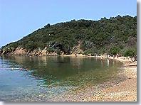 Port Cros, plage