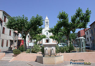 Puget Ville - Church plazza