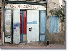 Rians - Old Credit Agricole bank