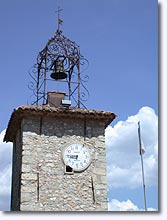 Seillans - bell tower