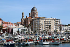 The city of Saint-Raphael