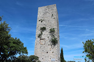 Taradel tower of de Taradeau - HQ photographs ofTaradeau