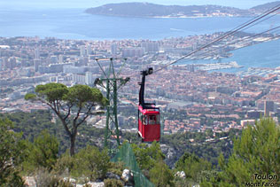 Toulon - View from the Mont Faron