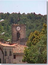 La Bastide des Jourdans, Clock tower