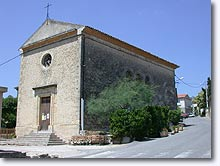 Cabrieres-d'Aigues, church