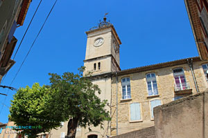 Cadenet, clock tower
