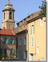 Camaret sur Aigues, Clock tower