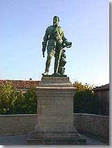 Statue of Captain Crillon le Brave