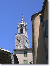 Cucuron - Bell tower