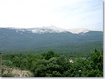 View of the Mont Ventoux from Flassan