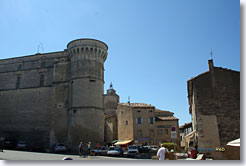 Gordes - Village square