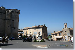 Gordes, main square