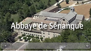 Senanque abbey video clip
