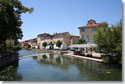 Isle sur la sorgue town of the vaucluse france - Office du tourisme isle sur la sorgue ...