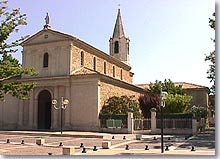 Le Pontet, church