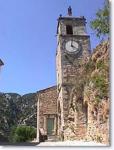 Maubec, Clock tower