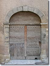 Mazan - Old door