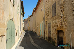 Mérindol, petite rue
