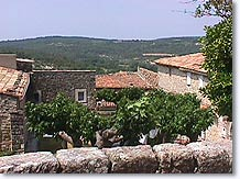 Murs, landscape of the Luberon
