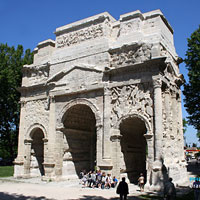 Orange - Triumphal arch