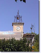 Puyvert - Clock tower