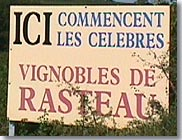 Vignobles de Rasteau