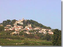 Rasteau village