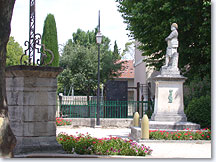 Richerenches, memorial