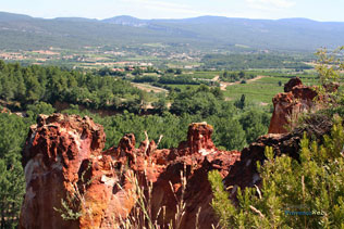 Roussillon, ocres