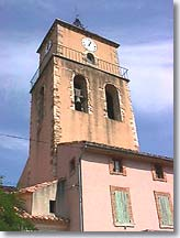 Sablet - Bell tower