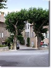 Saignon, street