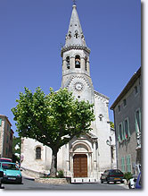 Saint Saturnin les Apt - Church