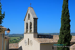 Saint Roman de Malegarde, bell tower
