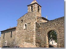 Vacqueyras - Church